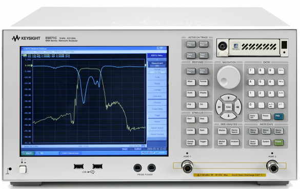 Agilent E5071C_Vector Network Analyzer